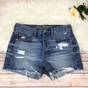 American Eagle Cutoff Distressed Shorts